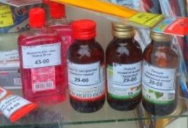 Розничная торговля спиртосодержащей непищевой продукцией приостановлена