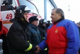 Глава МЧС посетил Приморье