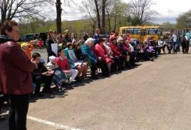 Праздничные мероприятия в селах Занадворовка и Филипповка 8 мая 2018 года