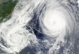 Штормовое предупреждение объявлено в Приморье из-за надвигающегося циклона